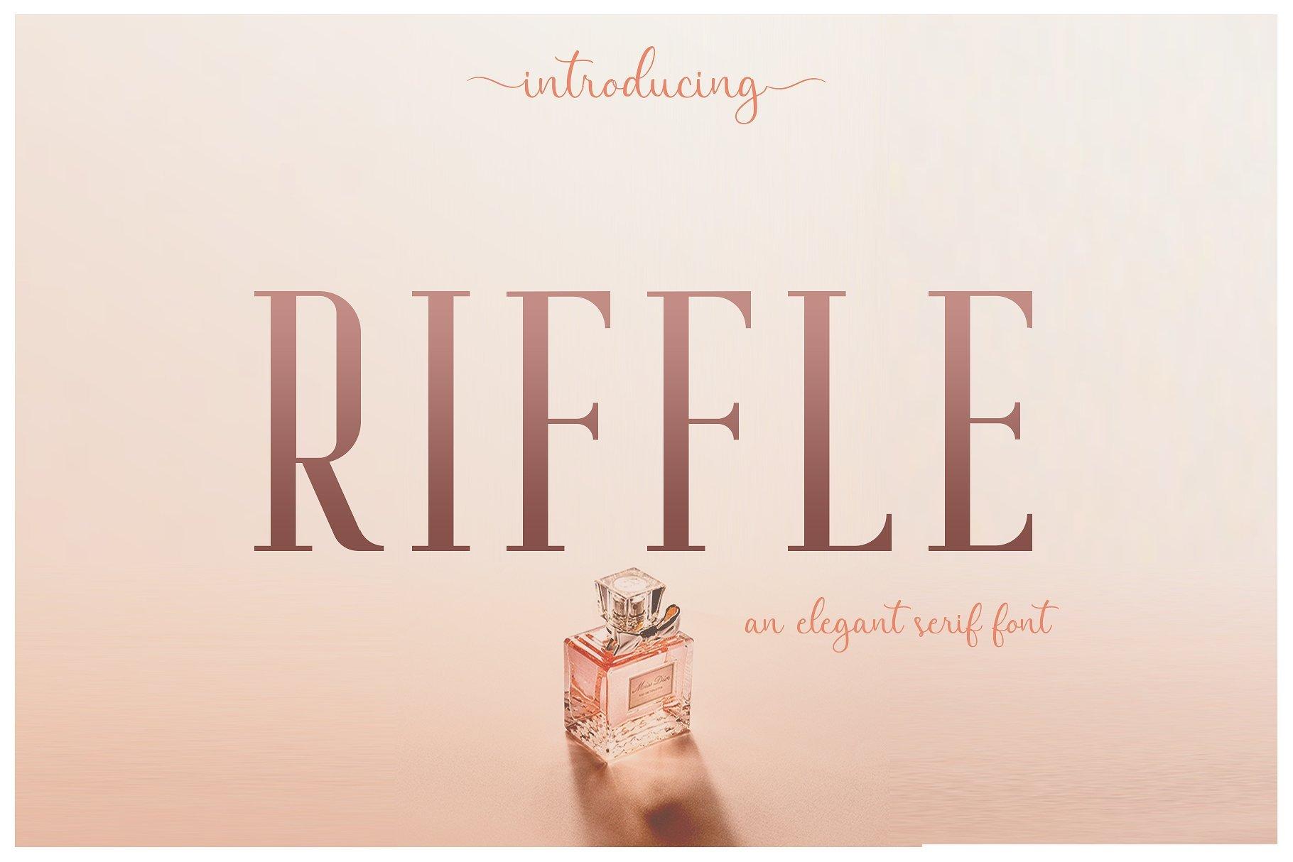 riffle-typeface