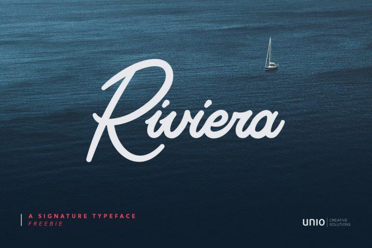 riviera-signature-font-768x512