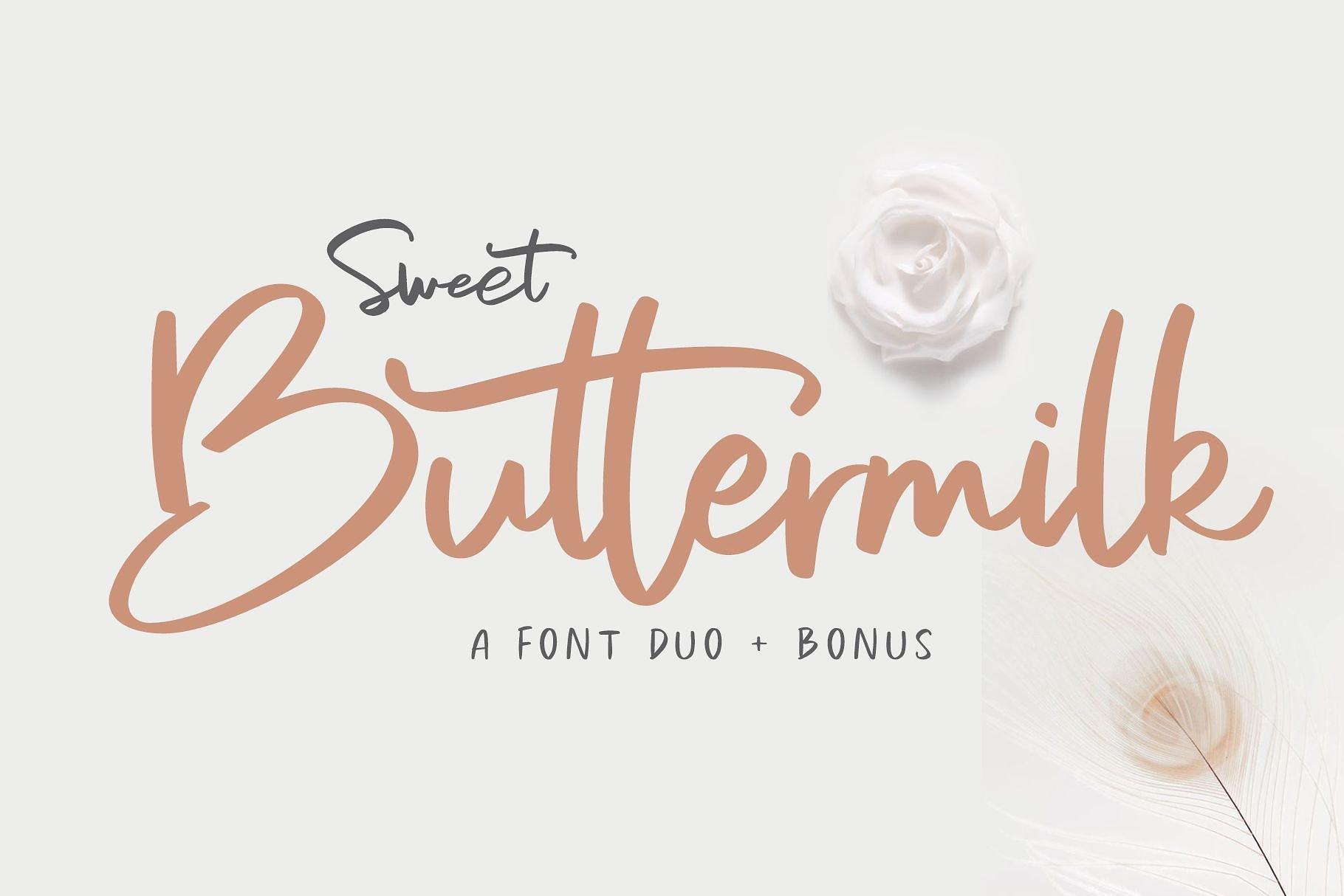 sweet-buttermilk-font-duo
