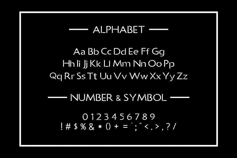 ALLCAN Typeface Free2