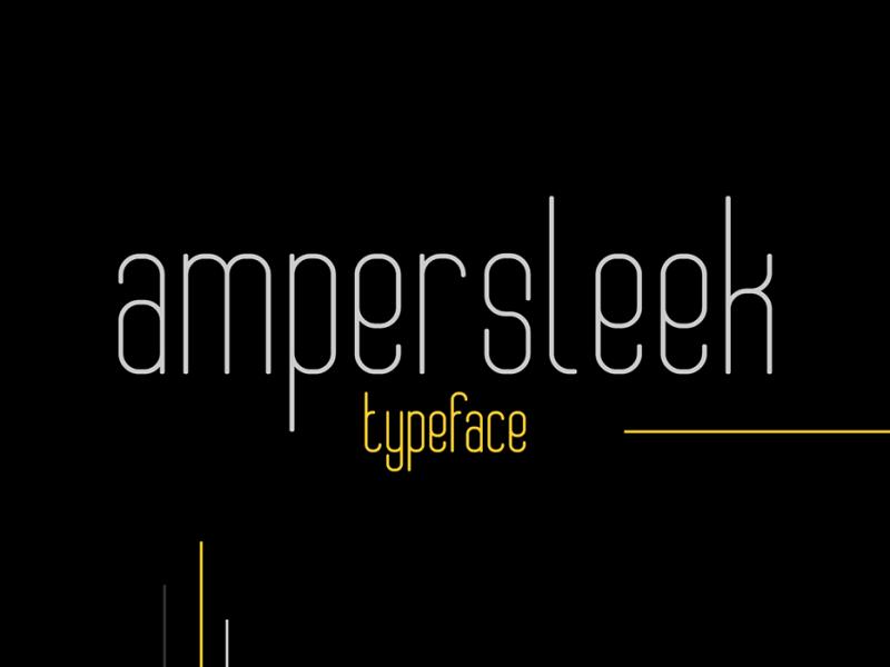 AmperSleek-Typeface-800x600