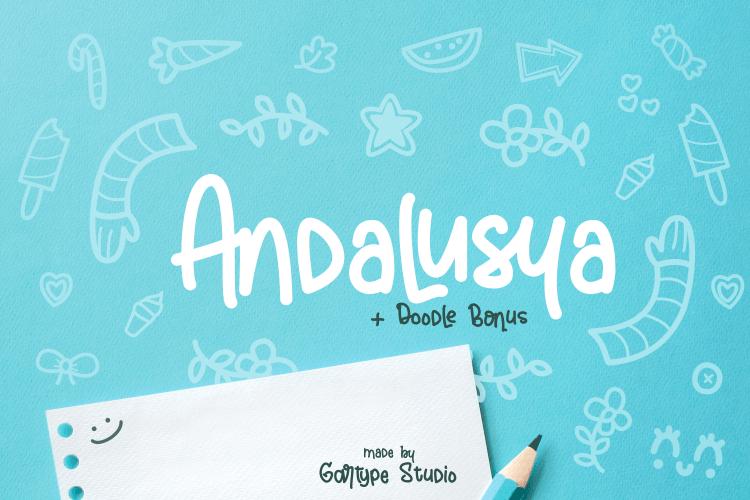 Andalusya-Script-Font
