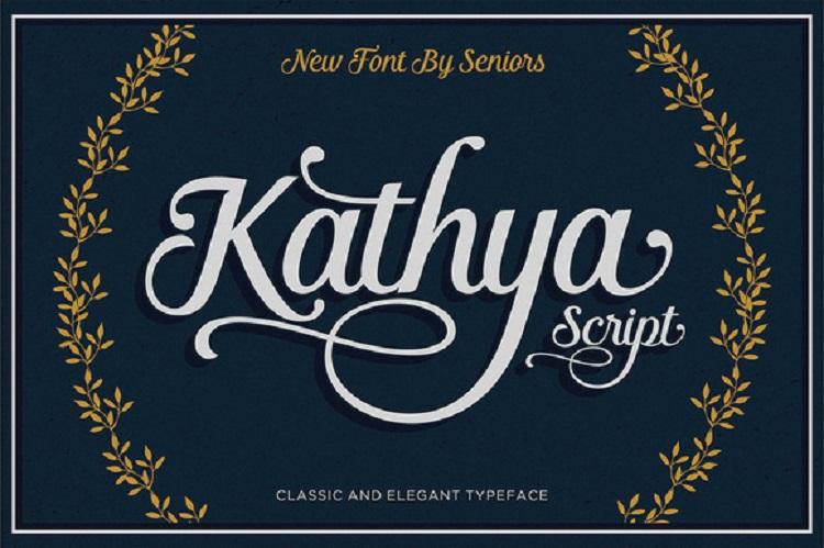 Kathya Script Font Free