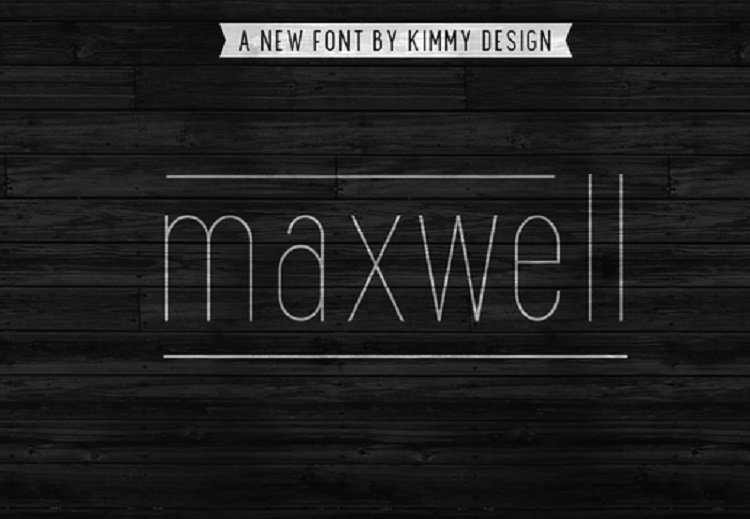 Maxwell Sans Font Free