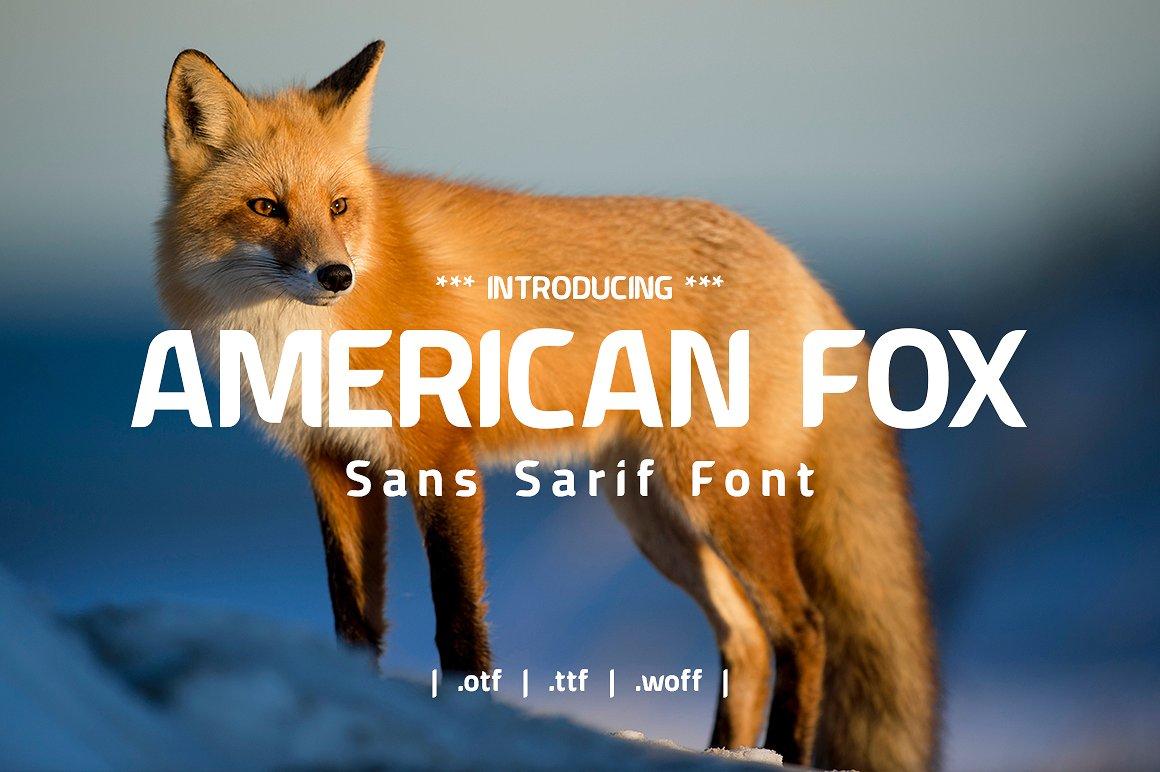 american-fox-font