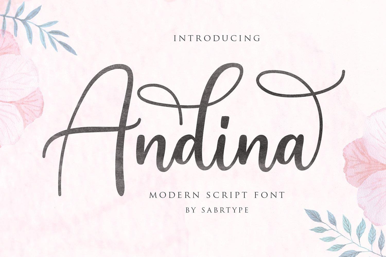 andina-script-font