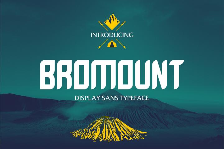 bromount-typeface