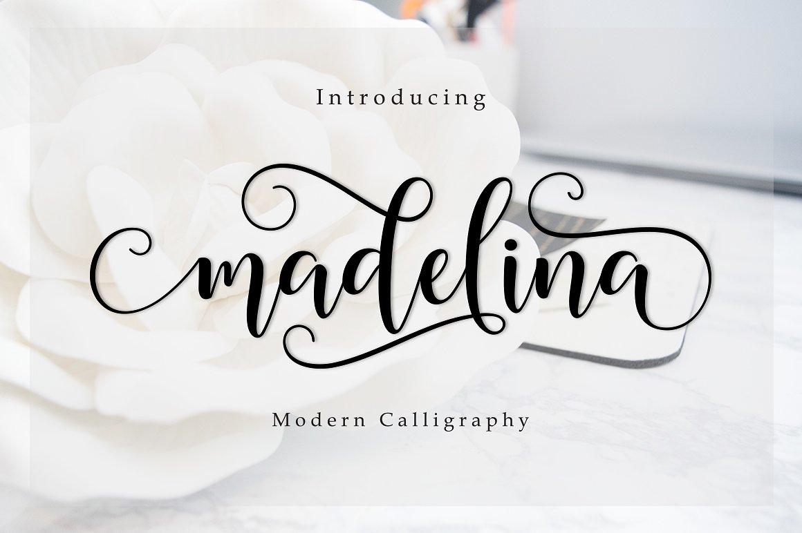 madelina-script-font