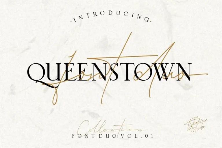queenstown-signature-font-768x512