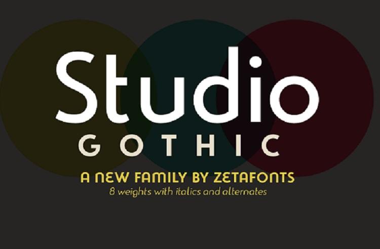 studio-gothic-font-family
