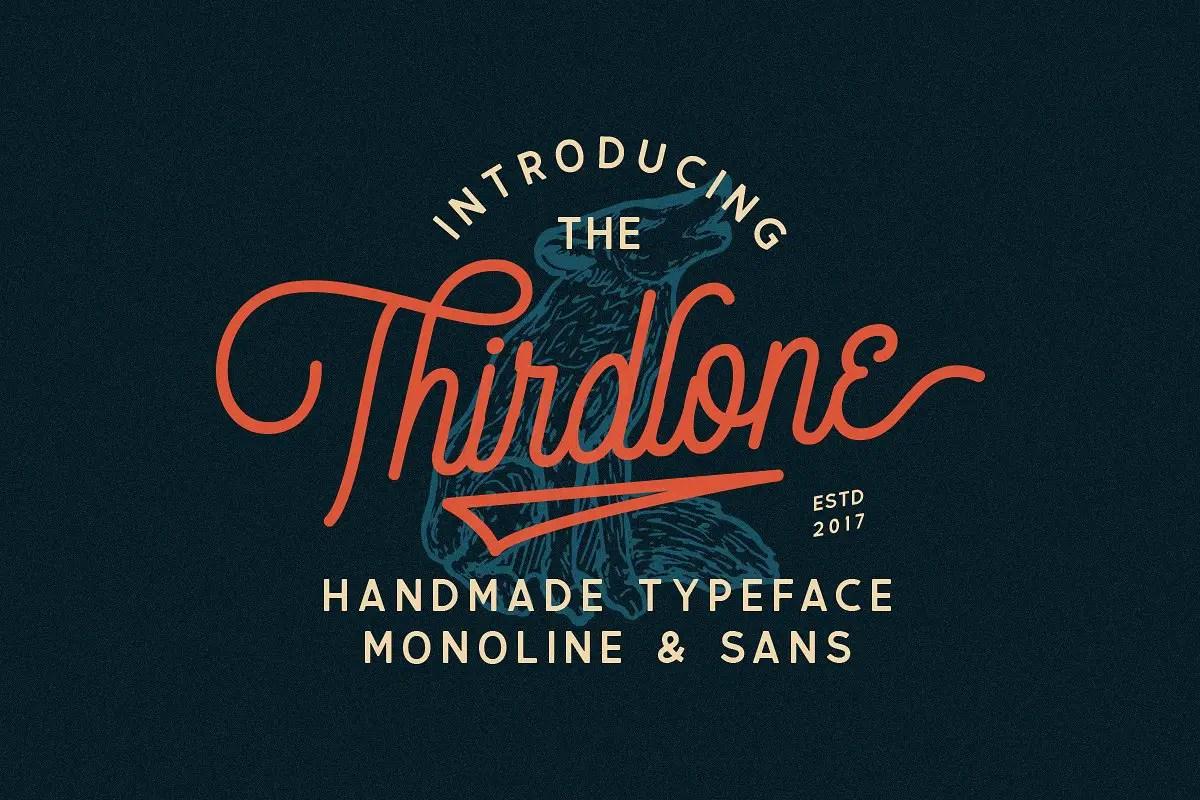 thirdlone-handmande-font