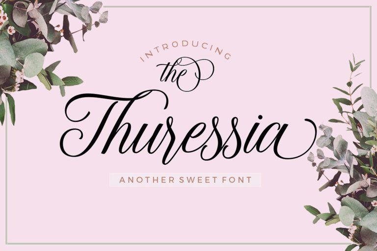thuressia-script-font-768x512