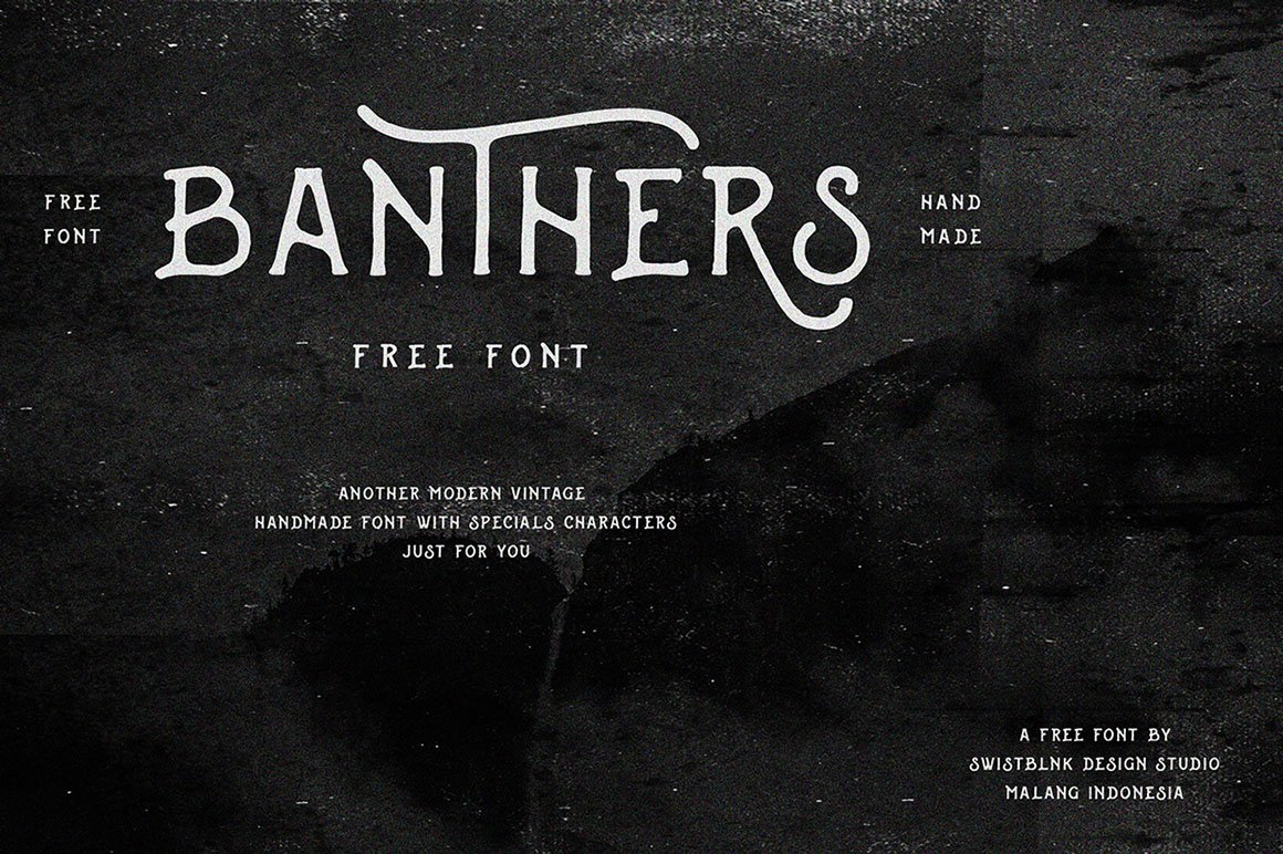 Banthers Font Free