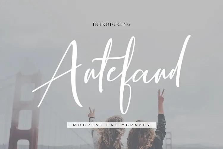 antefand-script-font