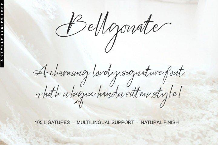 bellgonate-signature-font-1