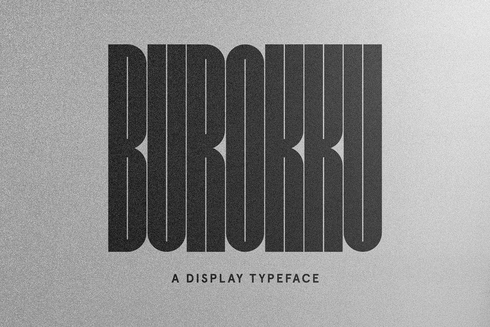 burokku-typeface