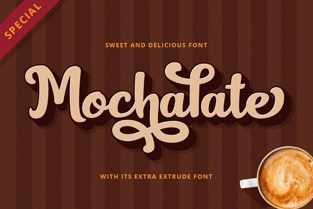 mochalate-script-font