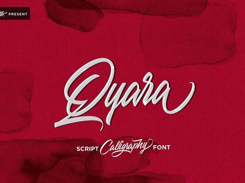 qyara-calligraphy-font-800x600