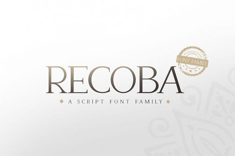 recoba-font-family