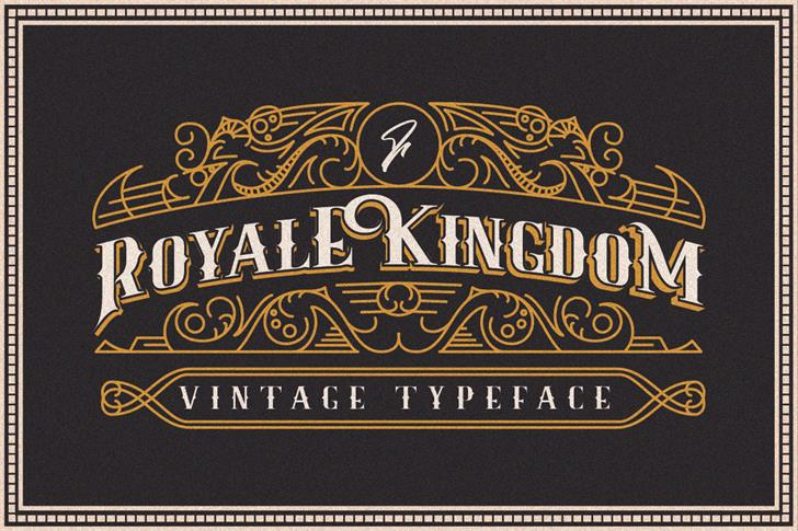 royale-kingdom-typeface