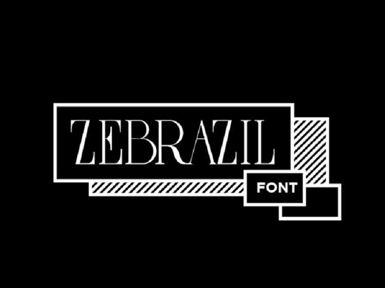 zebrazil-font