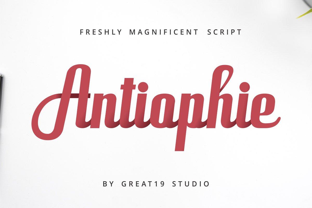 Free-Antiophie-Script-Font