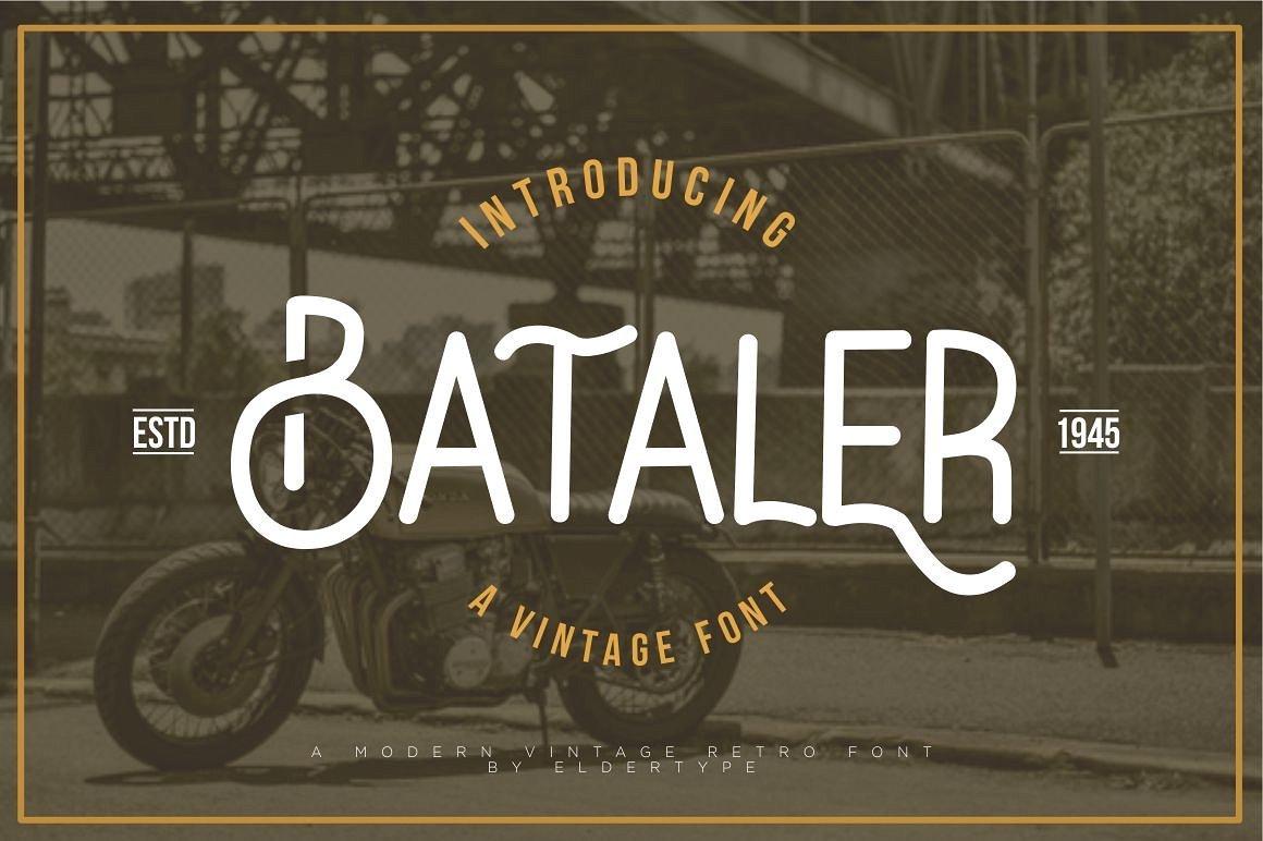 bataler-typeface