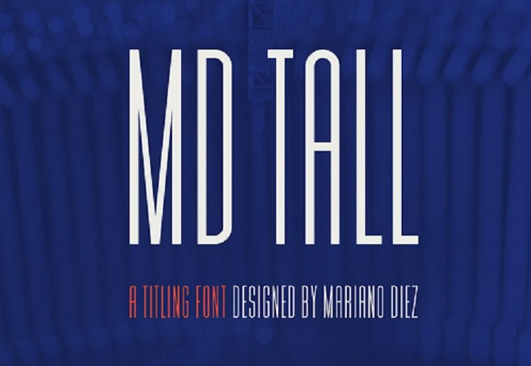 md-tall-typeface