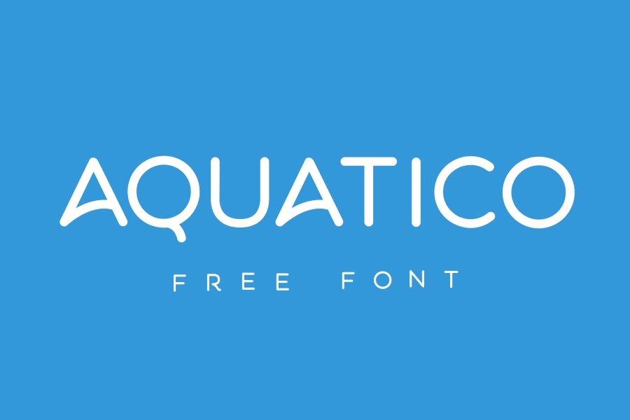 aquatico-free-animated-typeface