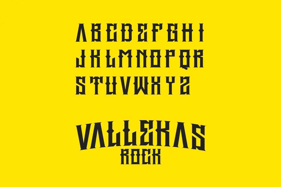 rocker-typeface