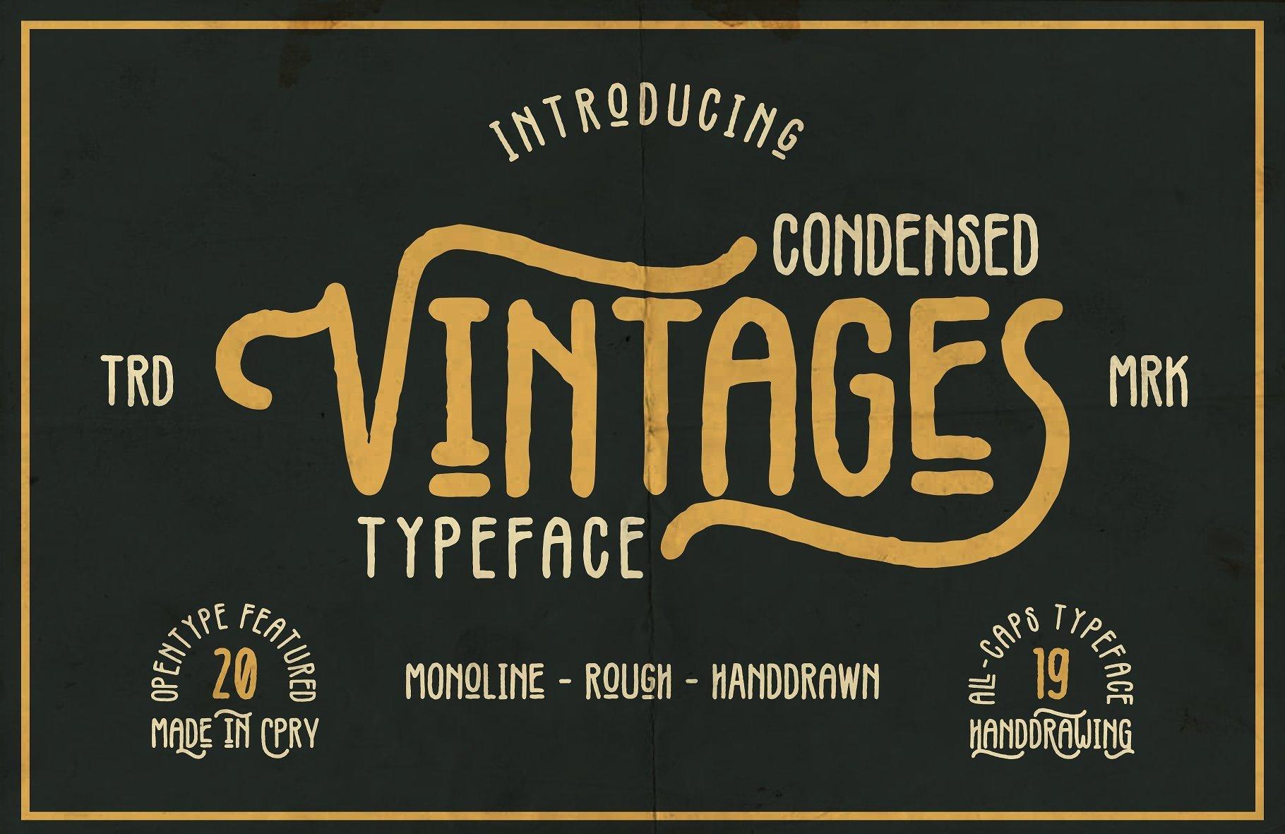 vintages-typeface