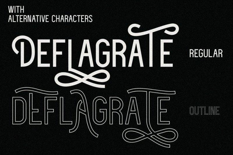 deflagrate-font-family-2