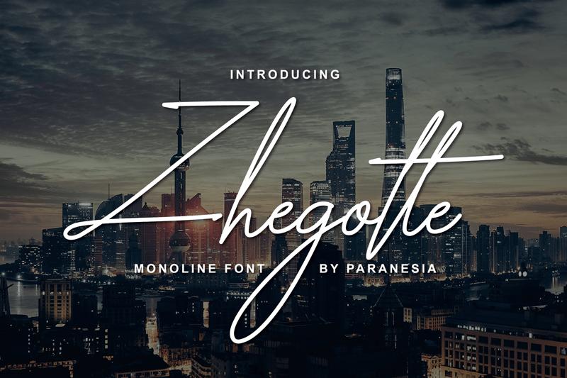 zhegotte-script-font