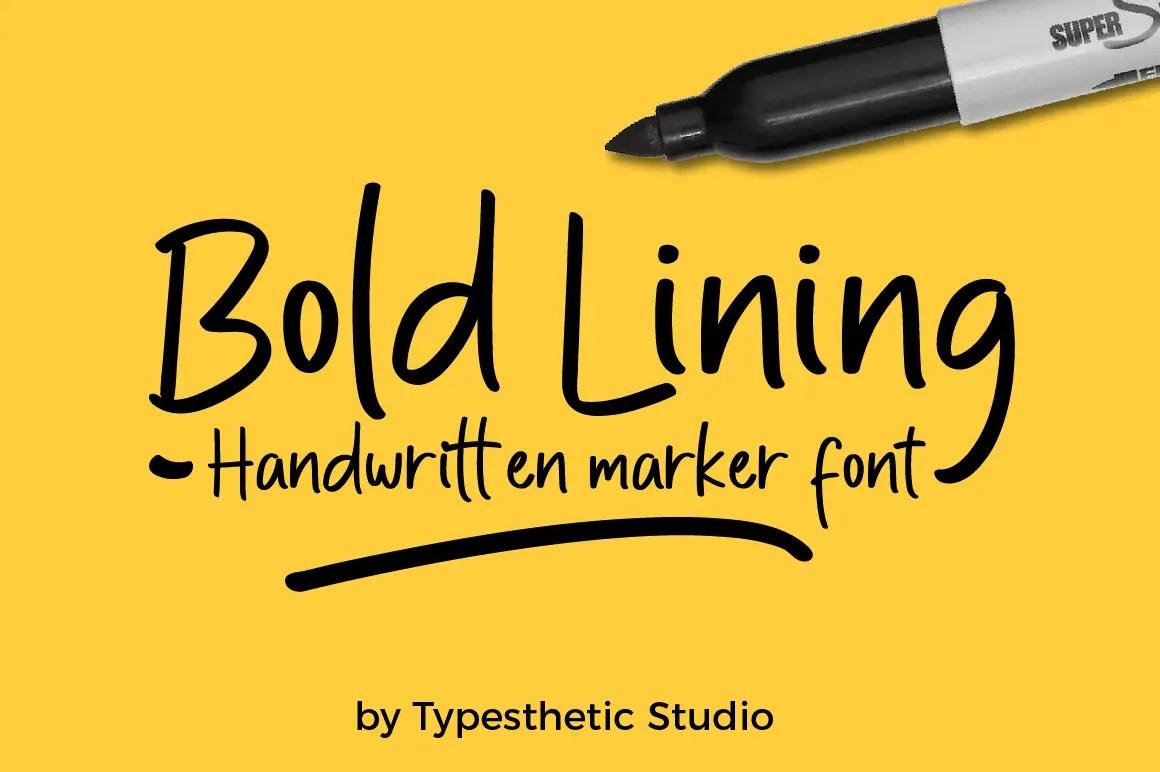 Bold Lining01