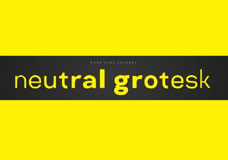 neutral-grotesk-typeface