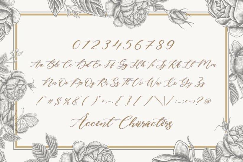 Lavineta Eisley Luxury Calligraphy Font