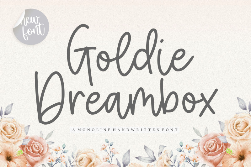 Goldie Dreambox Font 01
