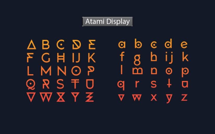 Atami Font Family03