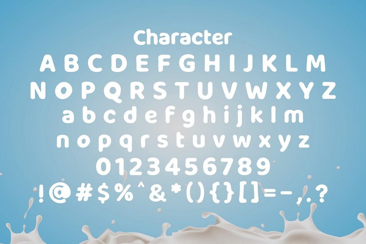 Milky-Nice-Display-Font-3