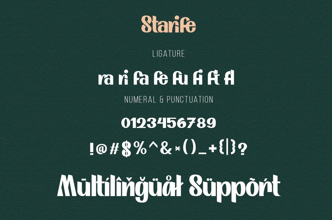 Starife-Modern-Display-Typeface-