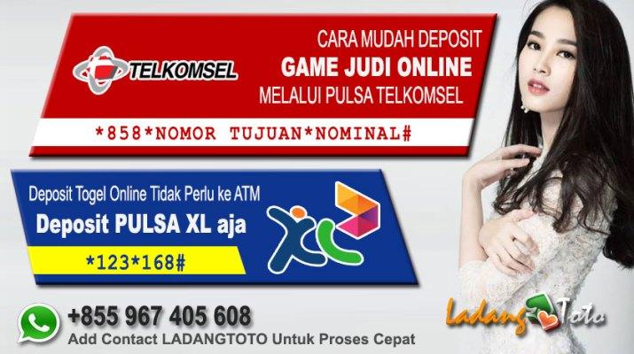 Deposit Pulsa LadangToto