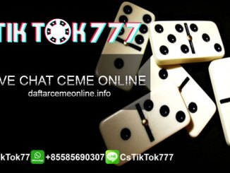 Live Chat Ceme Online