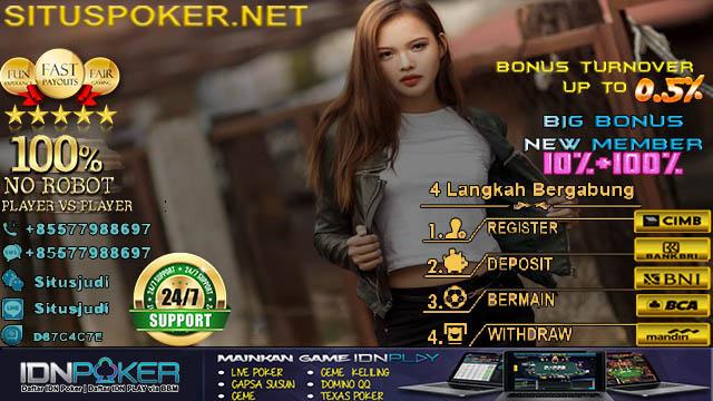 Daftar Poker Online Uang Asli Android 2018