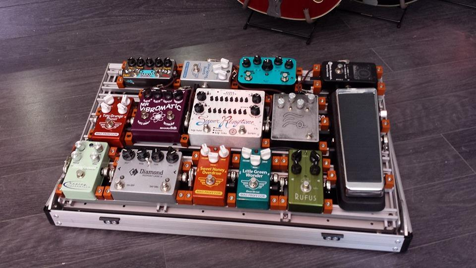 Wisconsin Pride: Monarch Pedalboards say Goodbye to Velcro