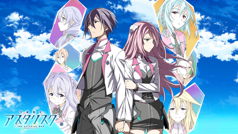15 Rekomendasi Anime Harem Terbaik, Saat Impian Para Jomblo Terkabul Gakusen Toshi Asterisk