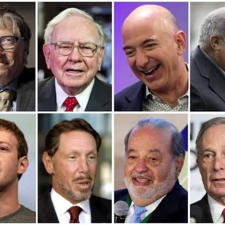 World's richest billionaires