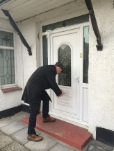 Jon Cruddas leafleting