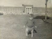 A baby Lee Waker by the Dagenham Civic Centre