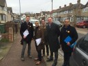 Out on the #LabourDoorstep w/ Sadiq Khan, Sam Gould, Jon Cruddas, Rocky Gill & Andy Achilleos