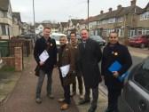 Out on the #LabourDoorstep w/ Sadiq Khan, Sam Gould, Jon Cruddas, Rocky Gill & Andy Achilleos